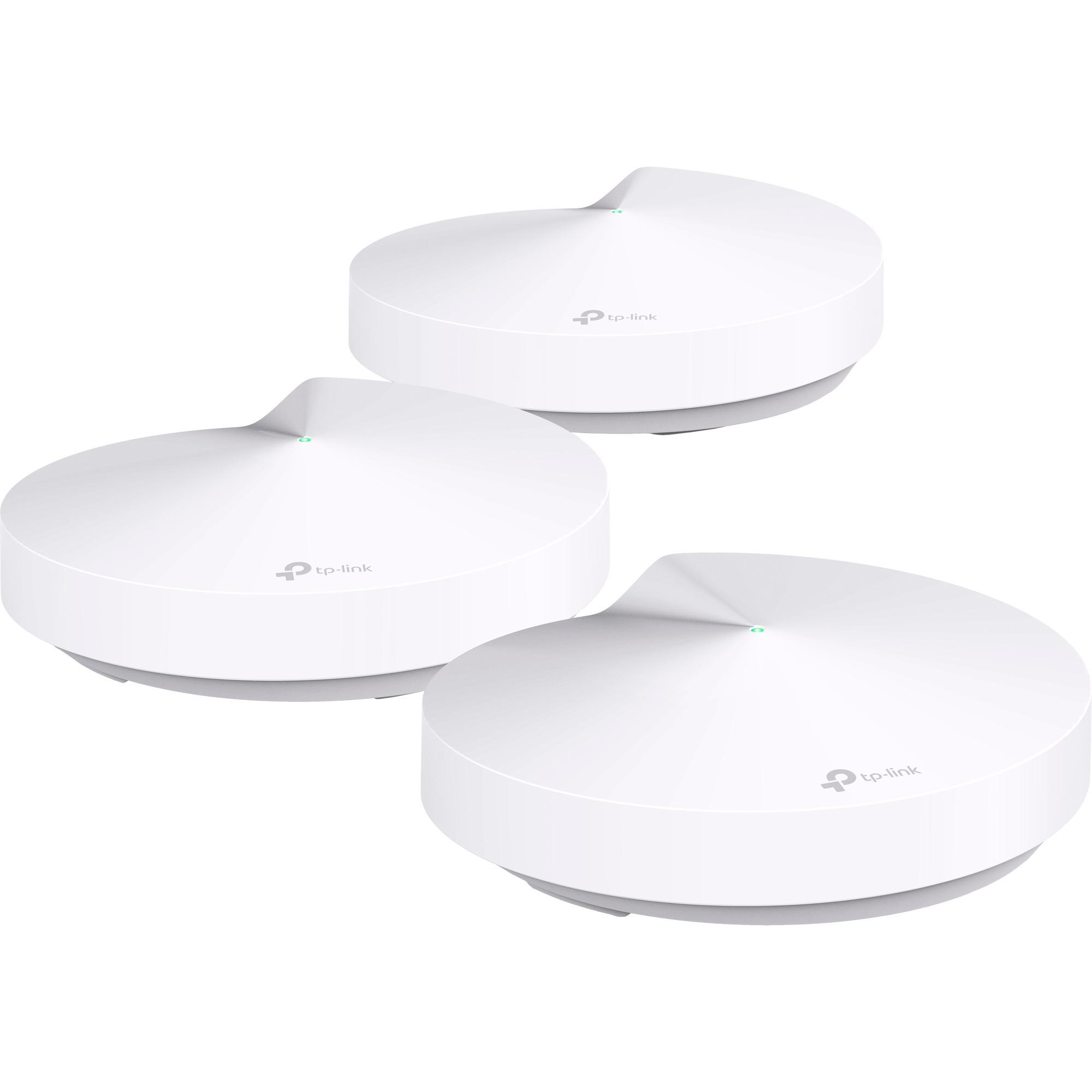 Deco M5, 3-Pack 1300Mbit/s Blanc point d'accès réseaux locaux sans fil, Routeur de maille
