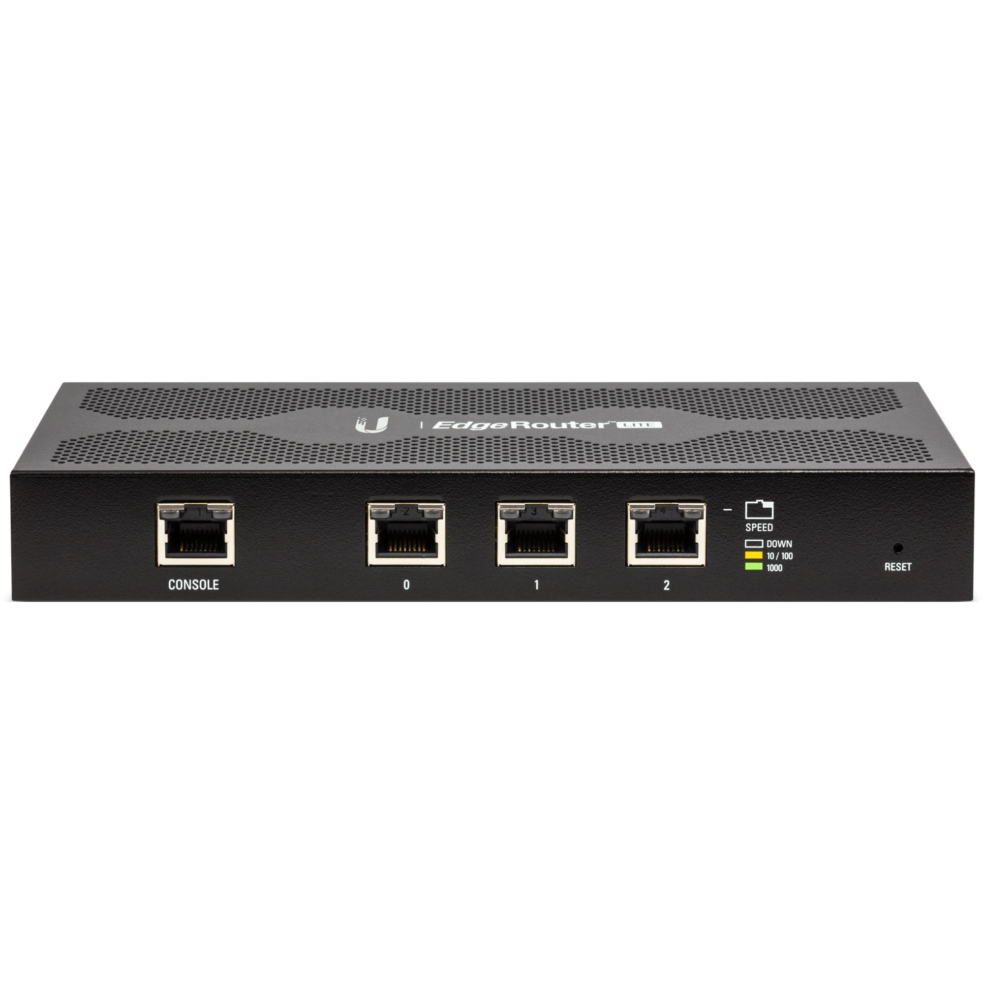 EdgeRouter ERLITE-3 Ethernet/LAN Routeur connecté