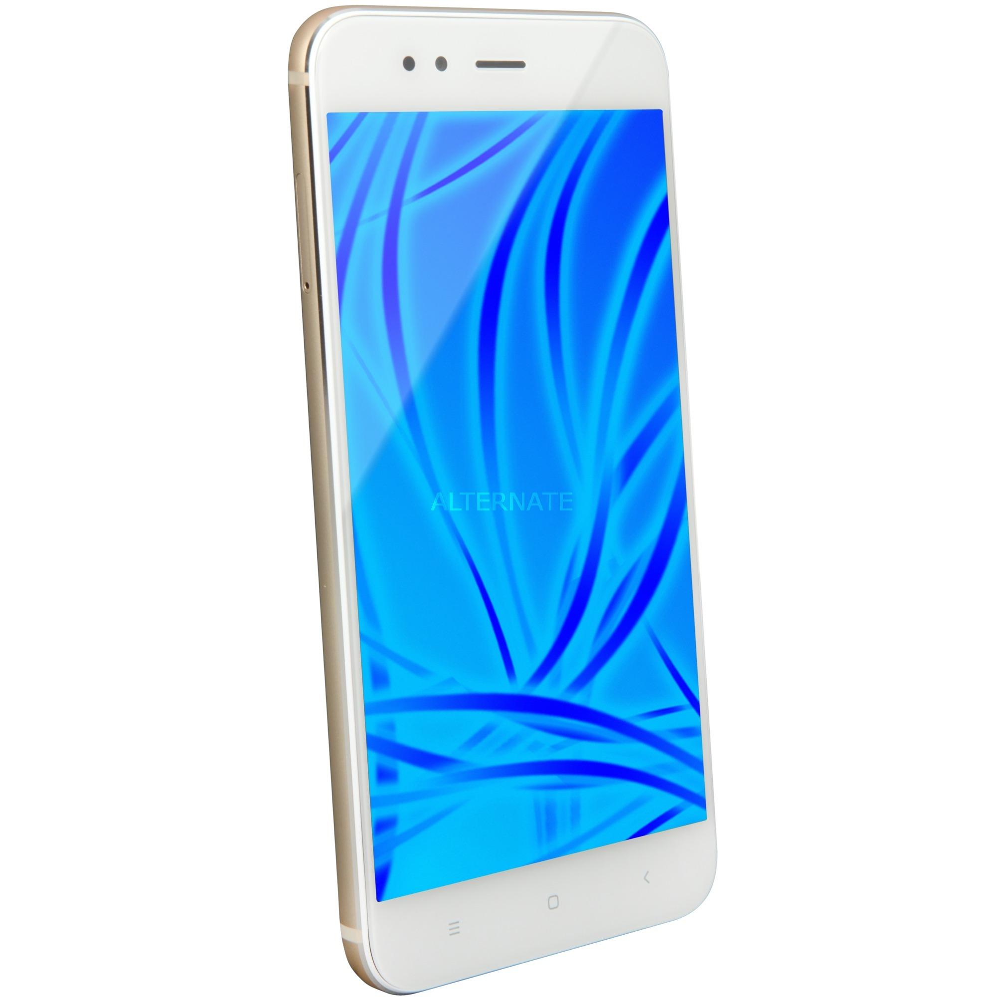 Mi A1 Double SIM 4G 32Go Or, Blanc, Mobile