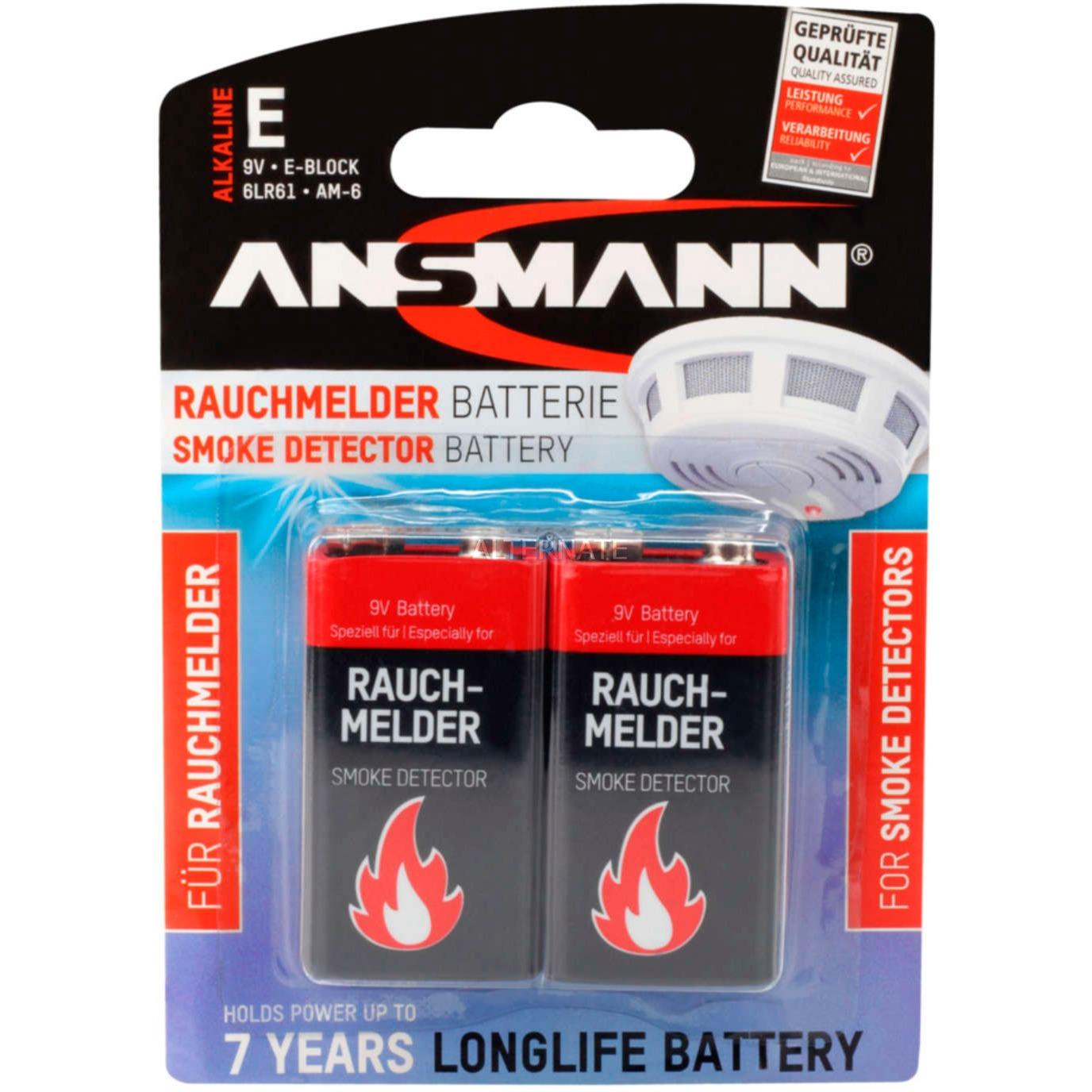 1515-0006 Alcaline 9V batterie rechargeable