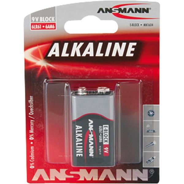 9V E-Block Alcaline 9V batterie rechargeable
