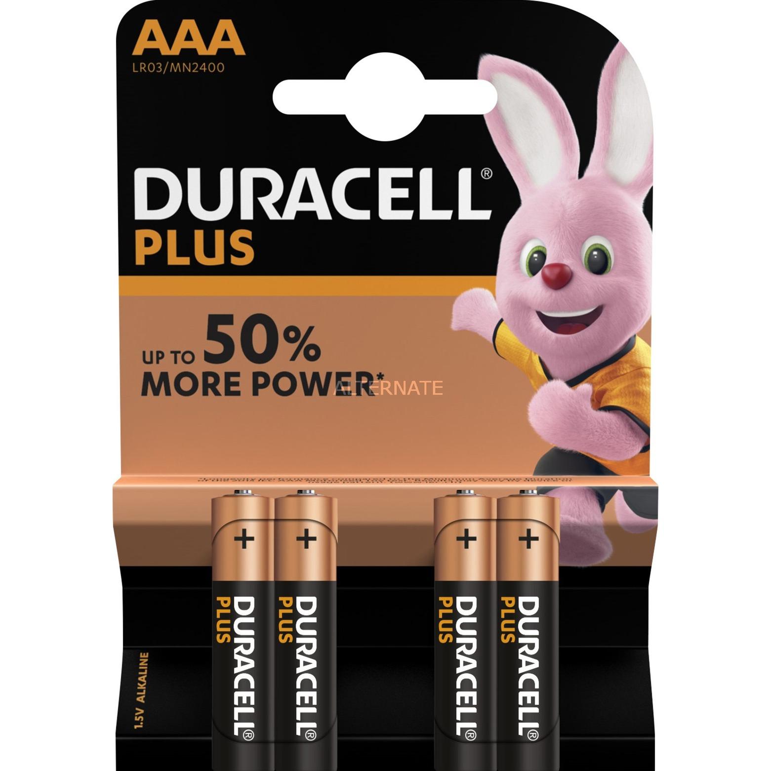 Plus Power Alcaline 1.5V pile non-rechargeable, Batterie
