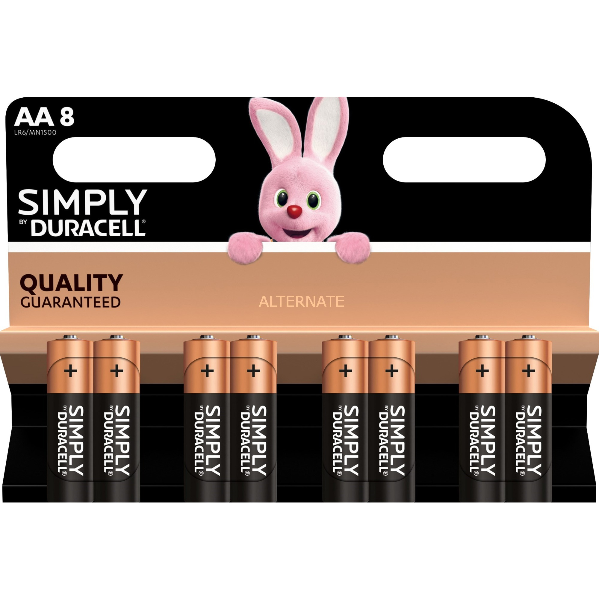 Simply Alcaline 1.5V pile non-rechargeable, Batterie