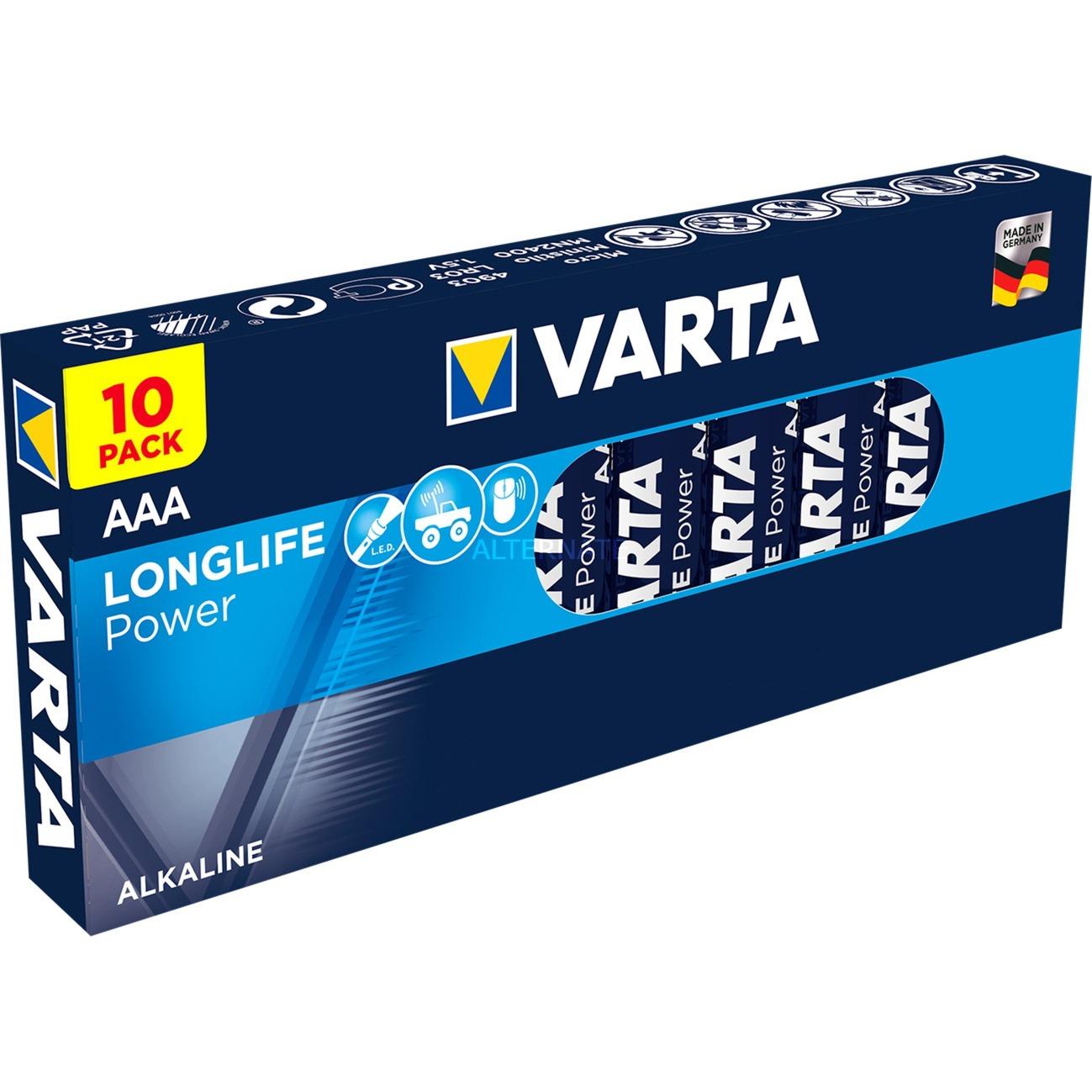 Alkaline, 1.5 V, AAA Alcaline 1.5V pile non-rechargeable, Batterie
