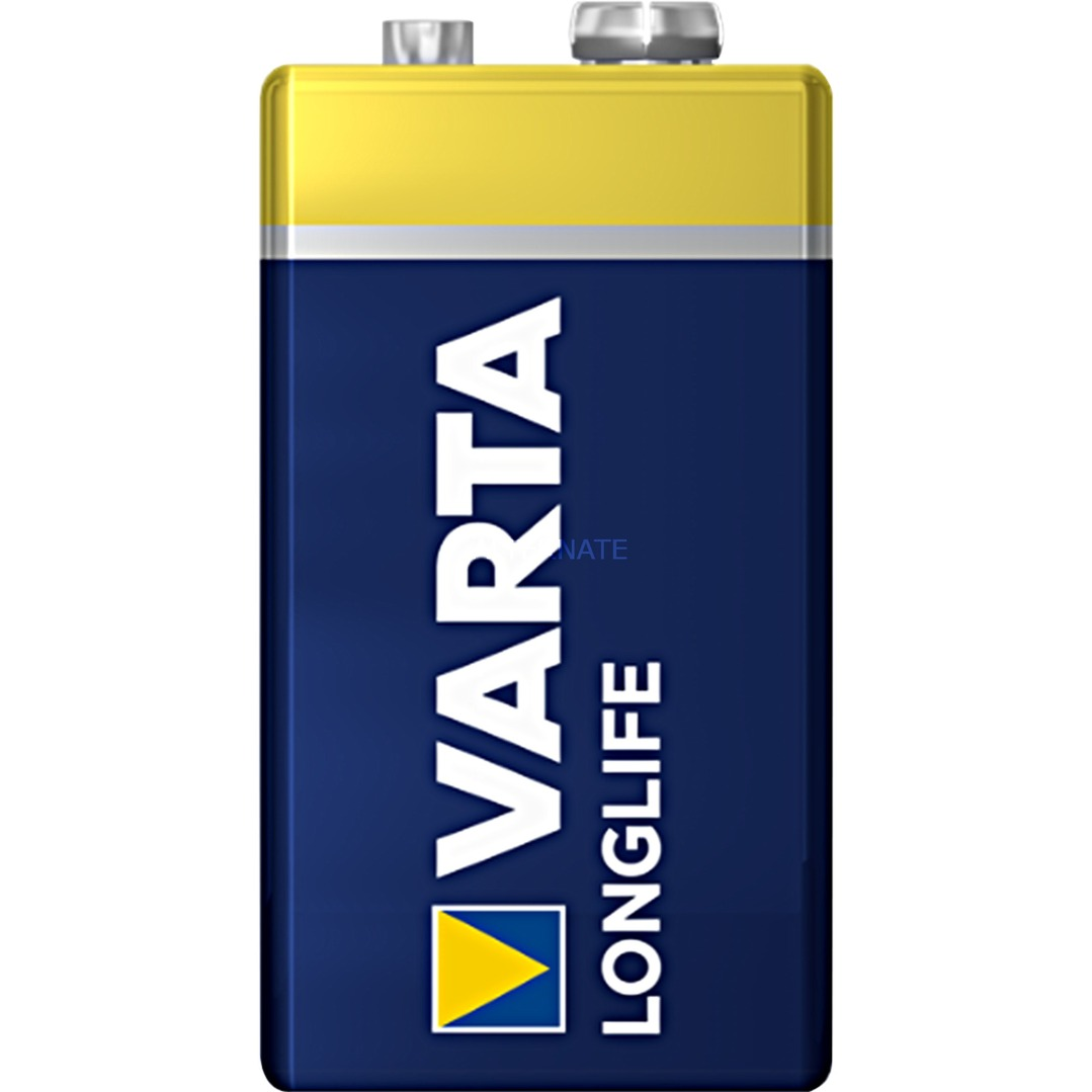 Longlife Extra 9V Alcaline 9V pile non-rechargeable, Batterie