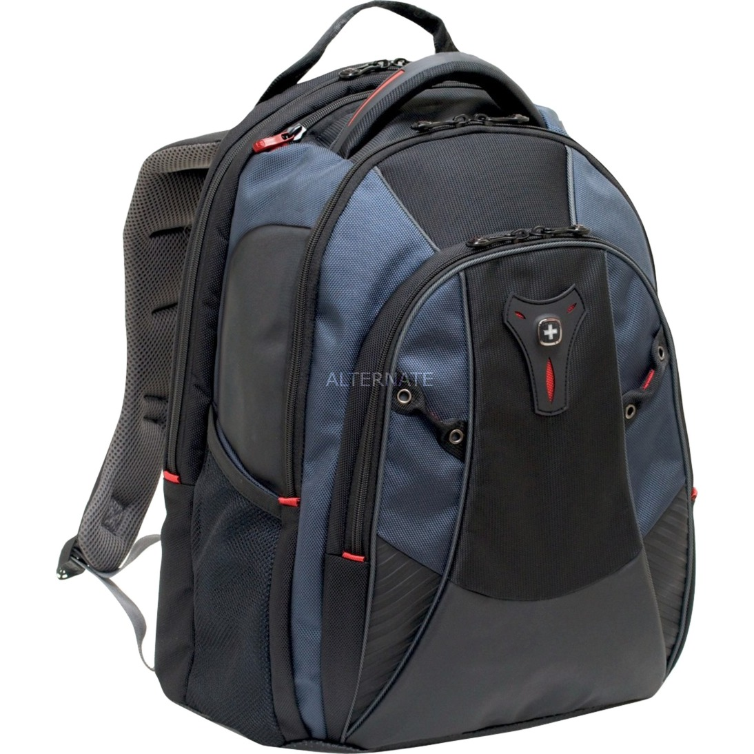 MYTHOS Tissu Noir, Bleu sac à dos