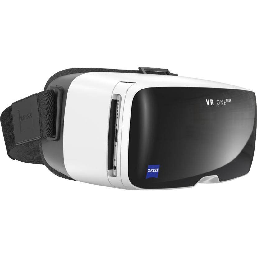 VR ONE Plus Casque de réalité virtuelle pour smartphone Noir, Blanc, Lunettes VR