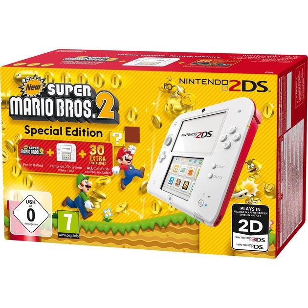 2DS + New Super Mario Bos.2 3.53