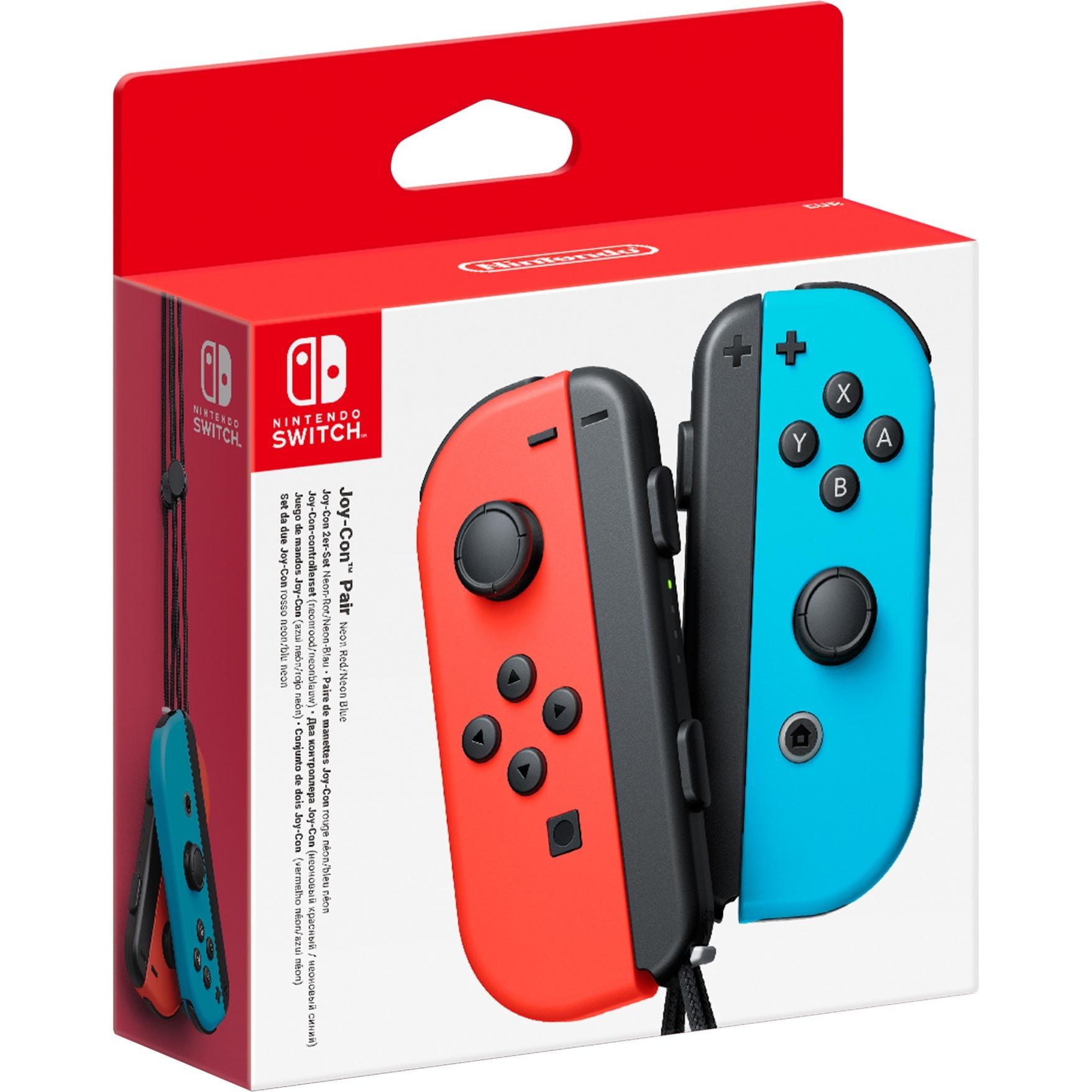 Joy-Con Manette de jeu Nintendo Switch Bleu, Rouge, Commande de mouvement