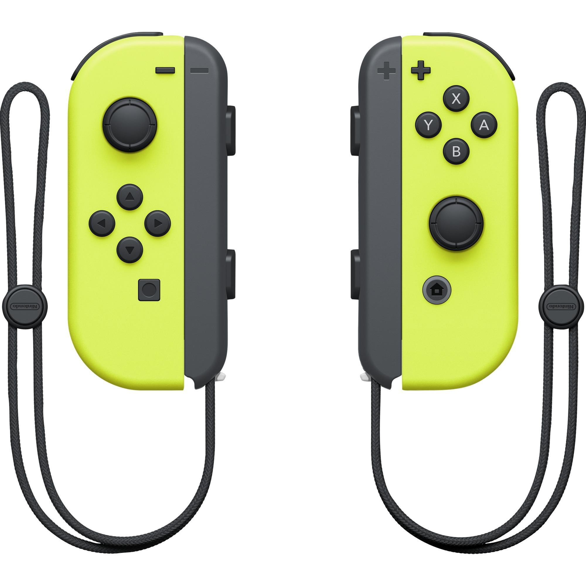 Switch Neon Yellow Joy-Con Controller Set Manette de jeu Nintendo Switch Jaune, Commande de mouvement