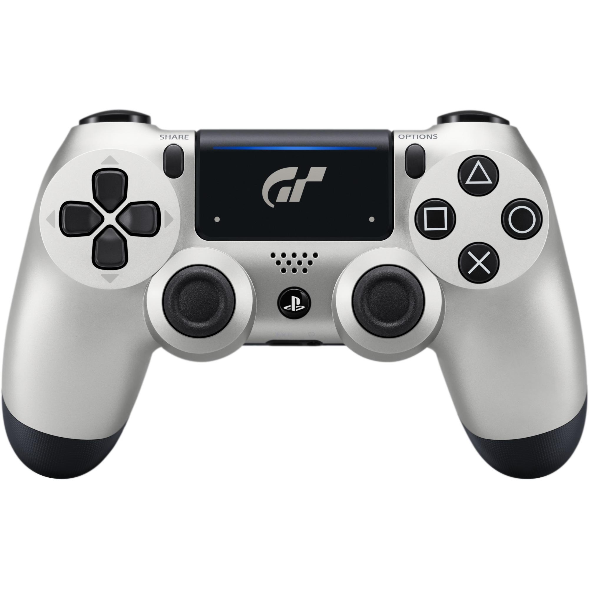 DUALSHOCK 4 Limited Edition GT Sport Manette de jeu PlayStation 4 Noir, Argent