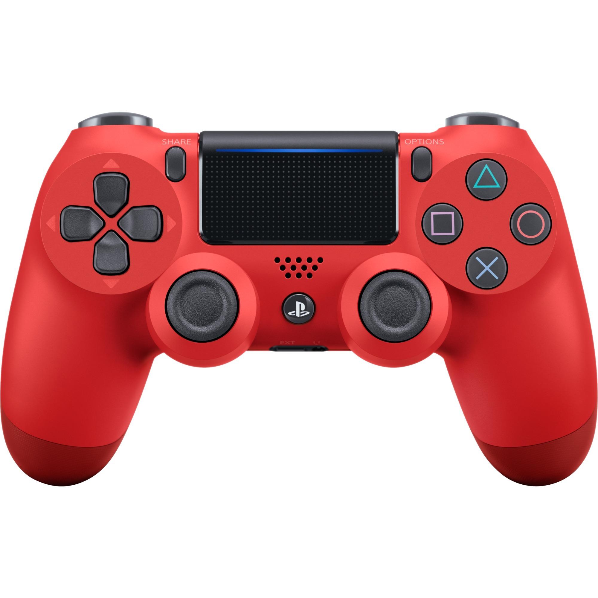 DualShock 4 Manette de jeu PlayStation 4 Rouge