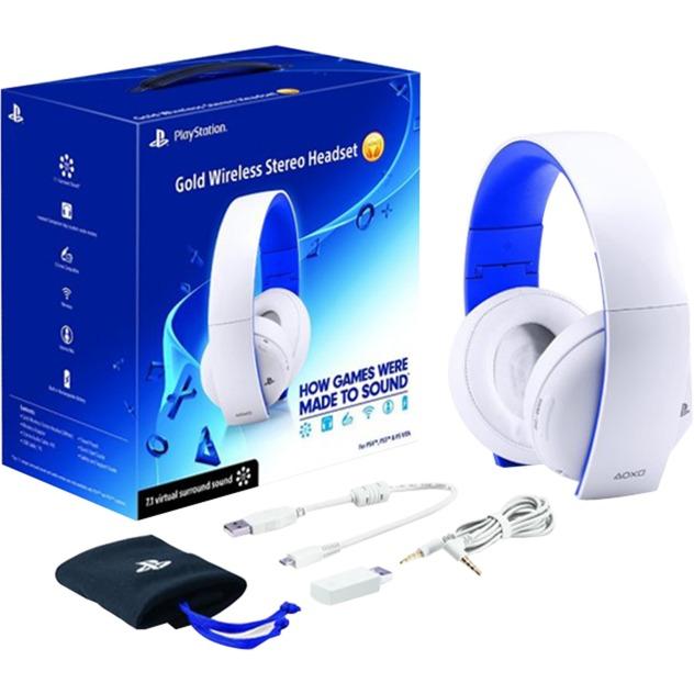 Micro-casque stéréo sans fil pour PS4, Casque d'écoute