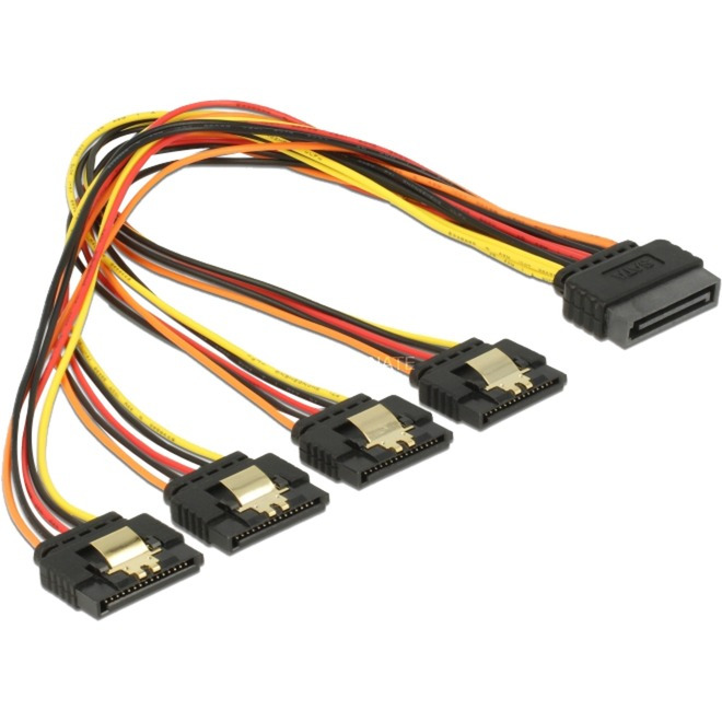 60157 0.3m SATA 15-pin Multicolore câble SATA