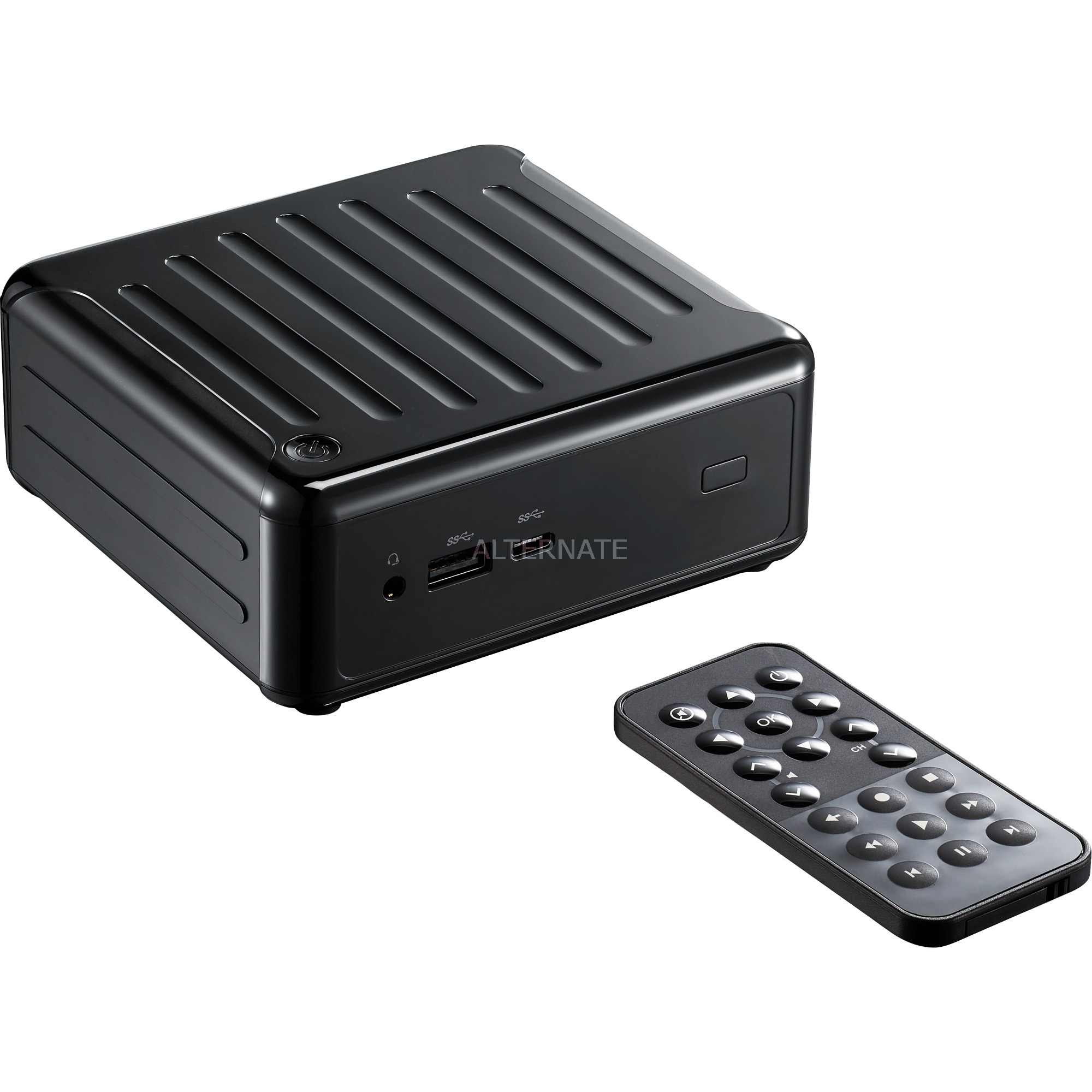 Beebox S 7100U/B/BB 2.4GHz i3-7100U 0,6L mini PC Noir, Barebone