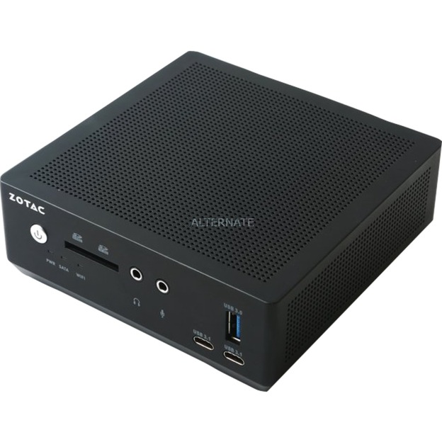 ZBOX MI547 Nano Intel SoC BGA 1356 2.50GHz i5-7200U Nettop Noir, Barebone