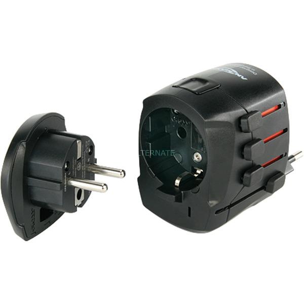 All-in-One 3 Noir adaptateur de puissance & onduleur, Adaptateur de prise