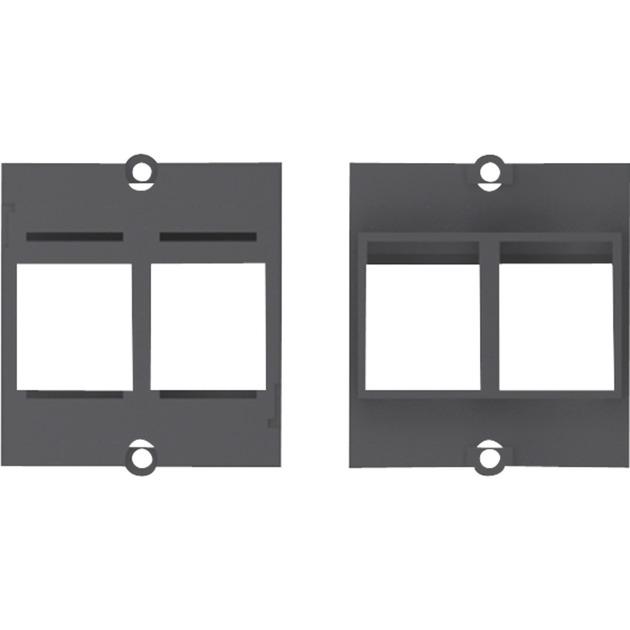 2 x Keystone Noir prise de courant, Module