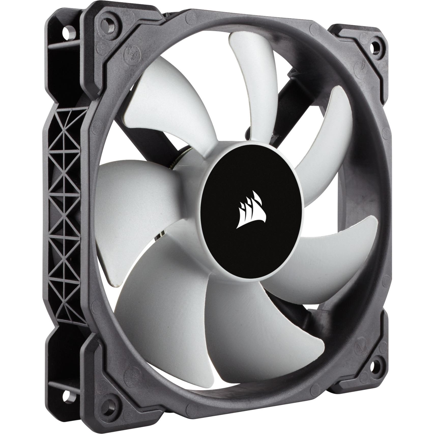 Air ML120 Boitier PC Ventilateur 12 cm Noir, Gris, Ventilateur de boîtier (Noir, Boitier PC, Ventilateur, 12 cm, 400 trmin, 2400 trmin, 16 dB)