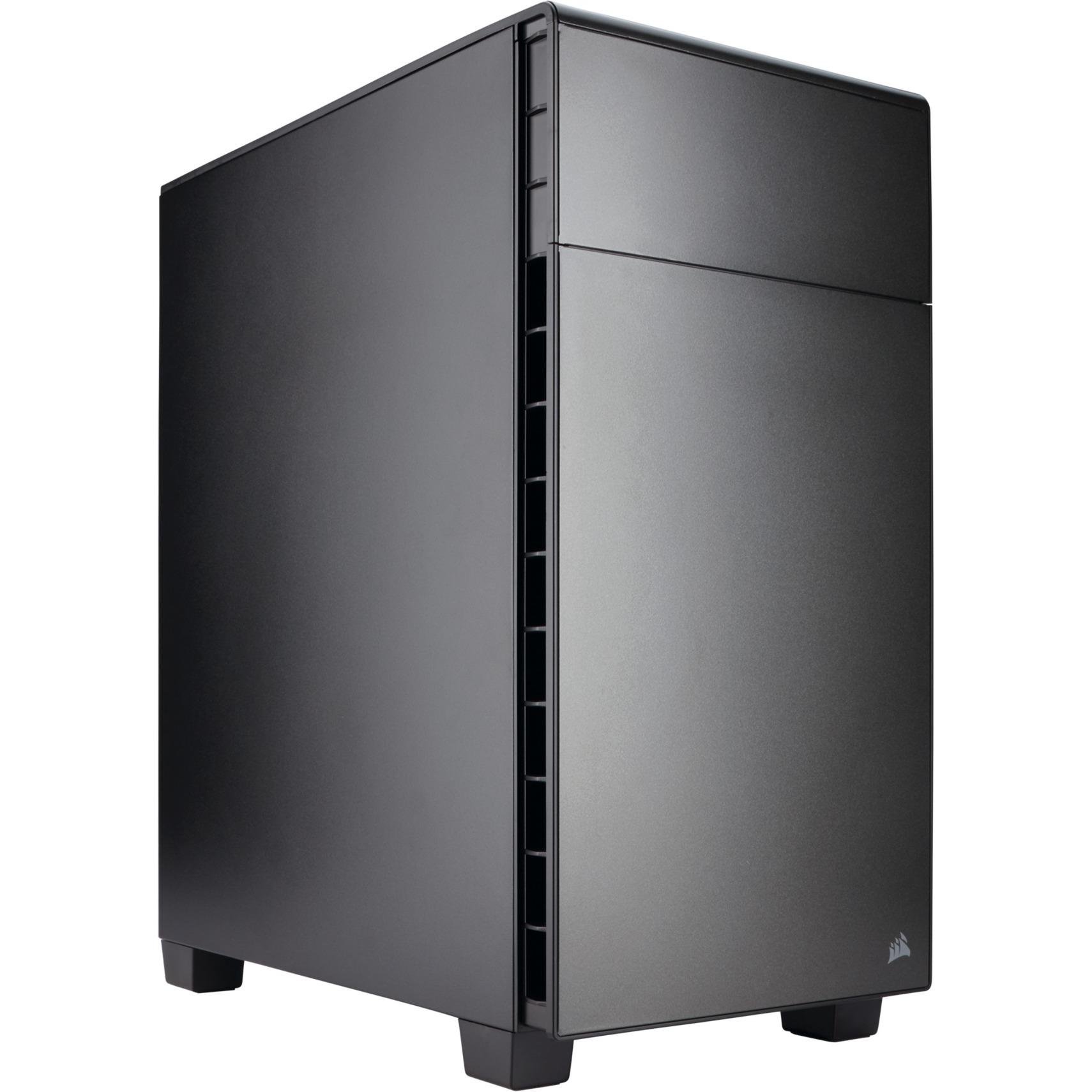 Carbide 600Q Full-Tower Noir unité centrale, Châssis mini-tour