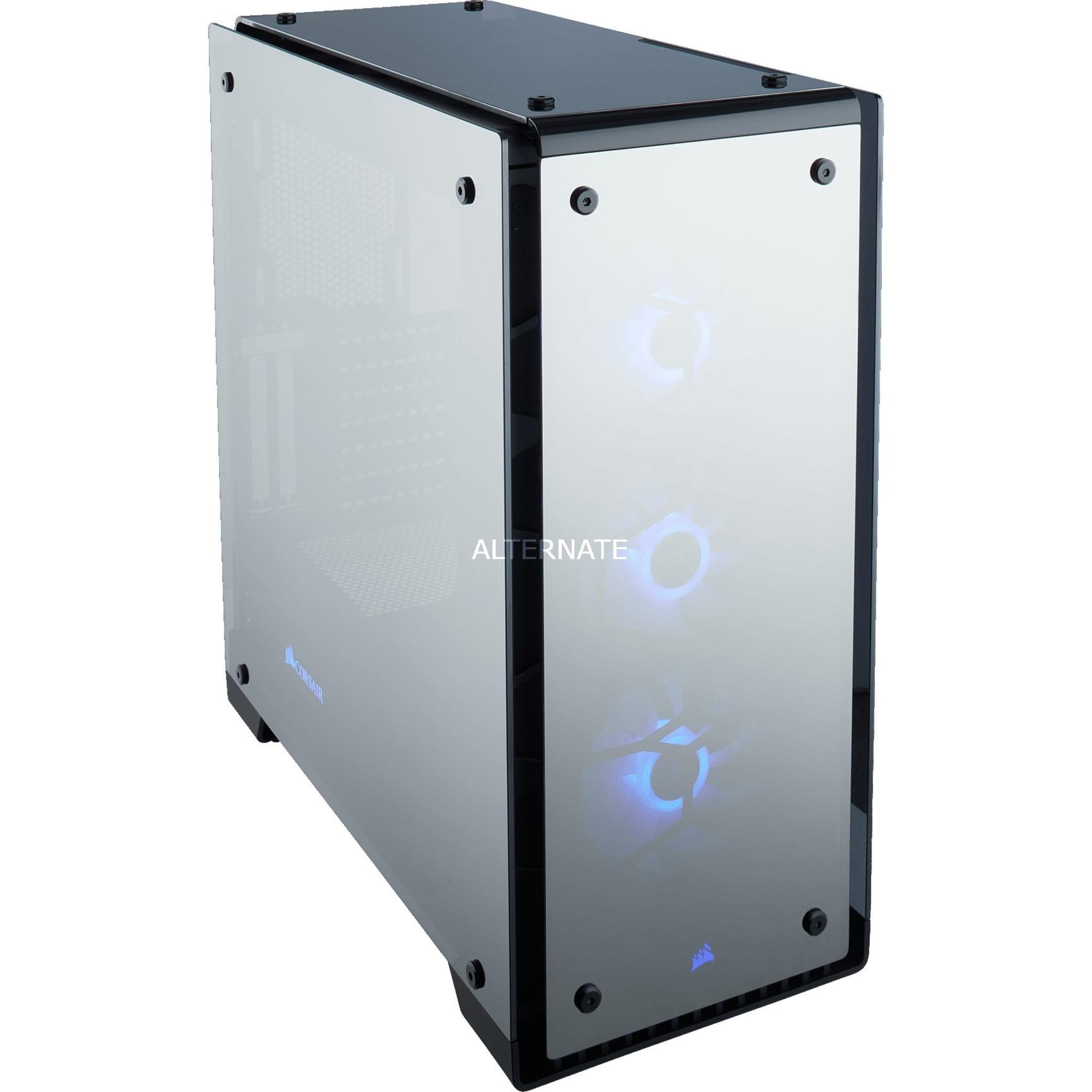Crystal 570X RGB Mirror Black Tempered Glass, Logement