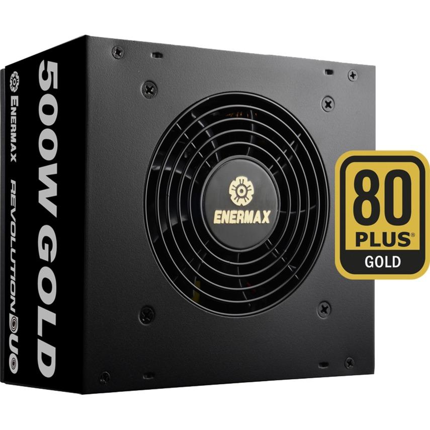 Revolution DUO 500W 500W ATX Noir unité d'alimentation d'énergie, Alimentation PC