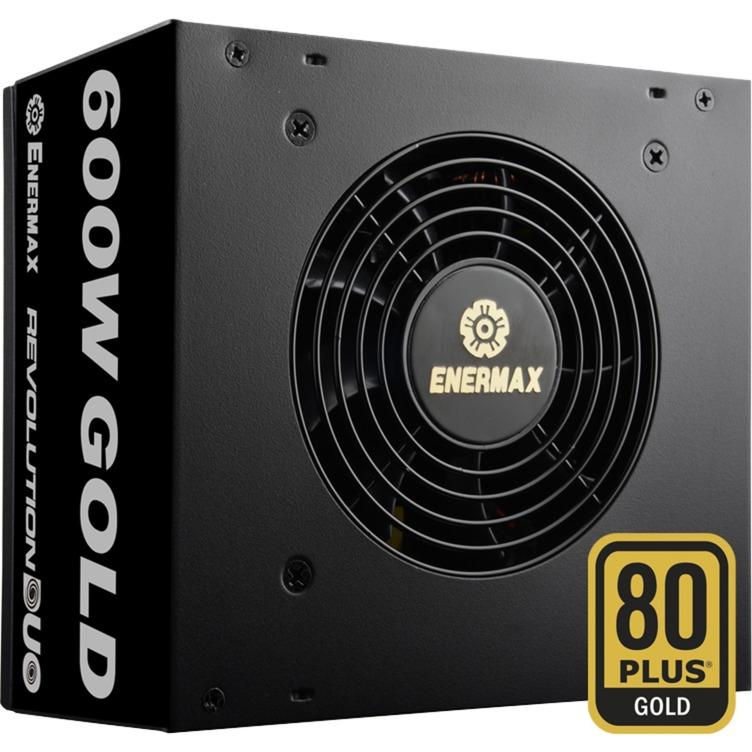 Revolution DUO 600W 600W ATX Noir unité d'alimentation d'énergie, Alimentation PC