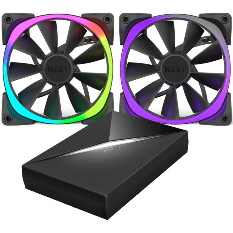 Aer RGB & HUE+ Boitier PC Ventilateur, Ventilateur de boîtier