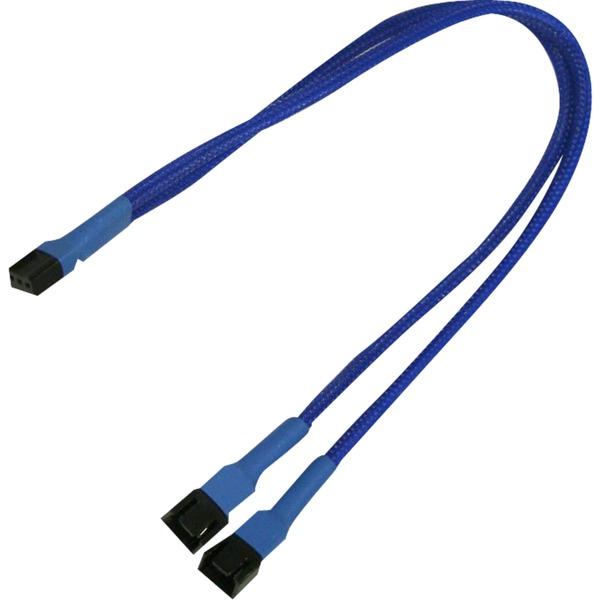 900200002 2 x 3-pin molex 3-pin molex Bleu adaptateur et connecteur de câbles, Câble en Y