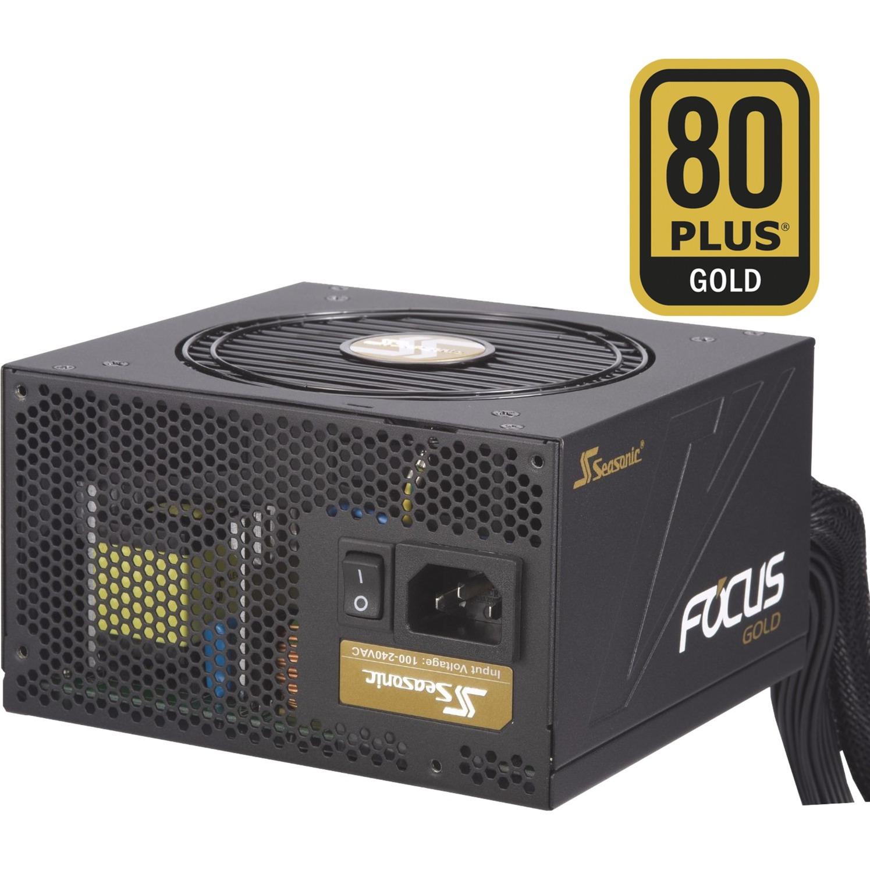 FOCUS 450 Gold 450W ATX Noir unité d'alimentation d'énergie, Alimentation PC