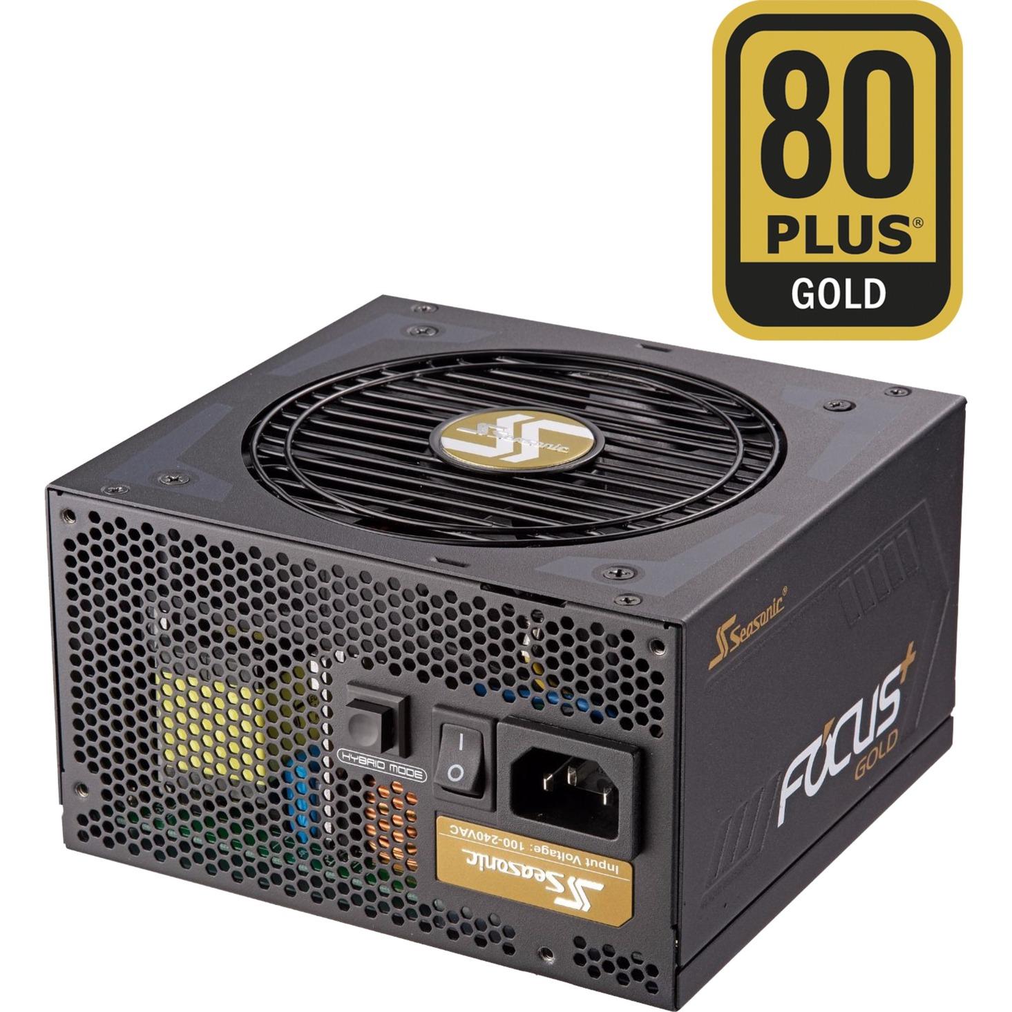 Focus Plus Gold 1000W, Alimentation PC