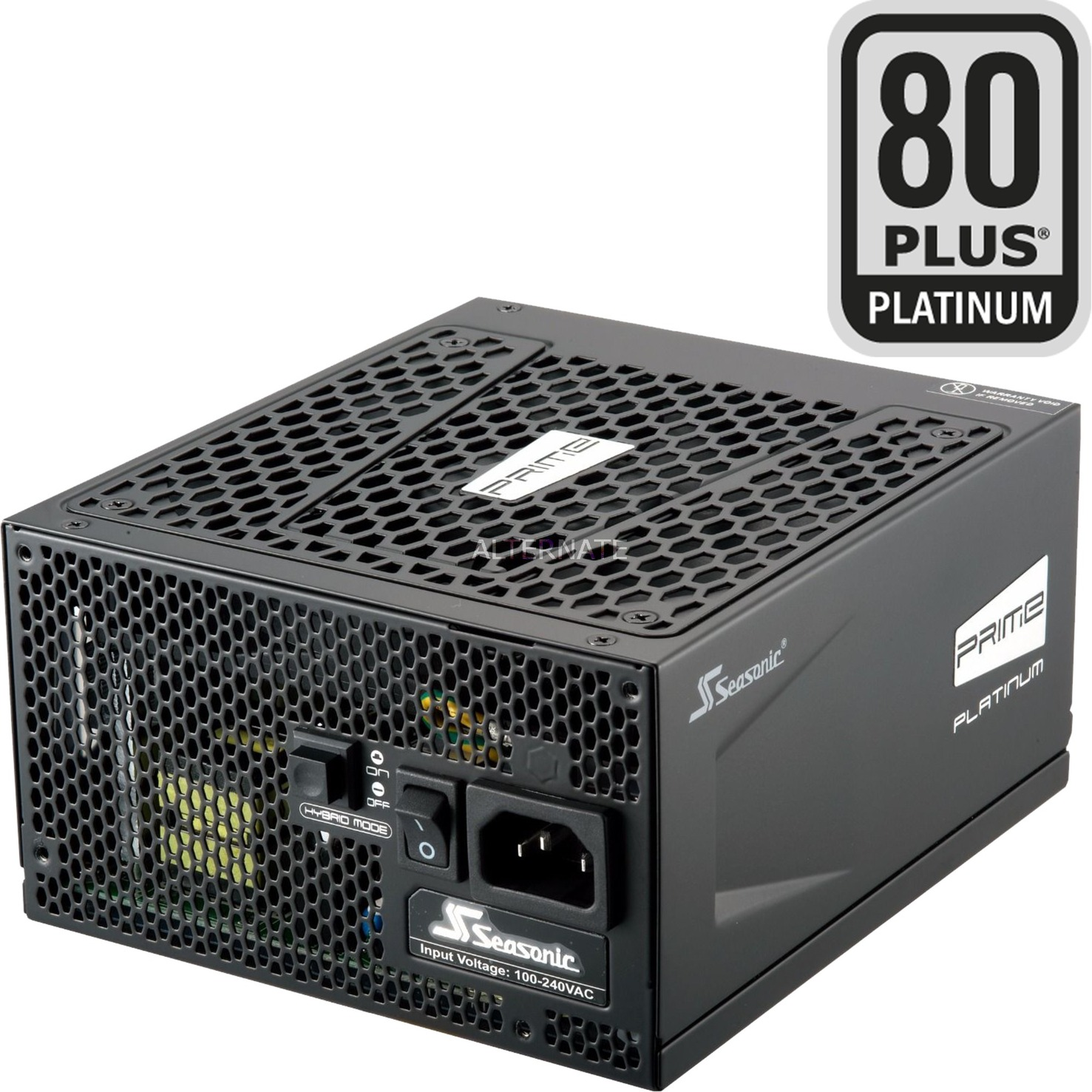 PRIME Ultra Platinum 1300W, Alimentation PC