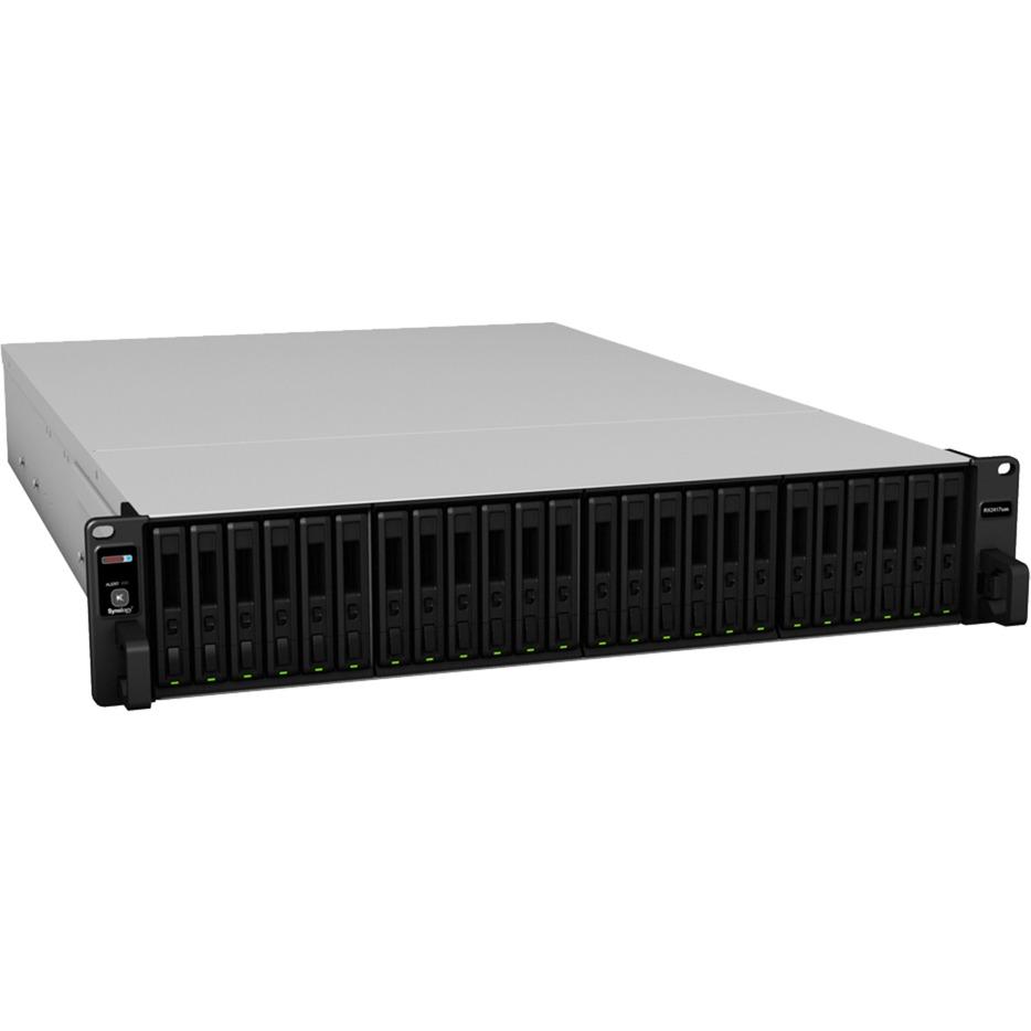 RX2417SAS Rack (2U) Noir boîtier de disques, Module d'extension