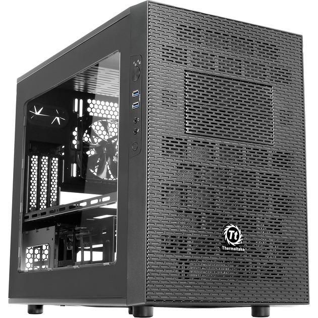 Core X1 Cube Noir unité centrale, Châssis mini-tour