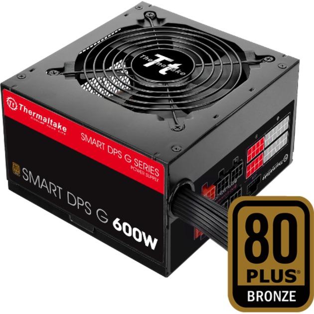 SMART DPS G 600W 600W ATX Noir, Rouge unité d'alimentation d'énergie, Alimentation PC