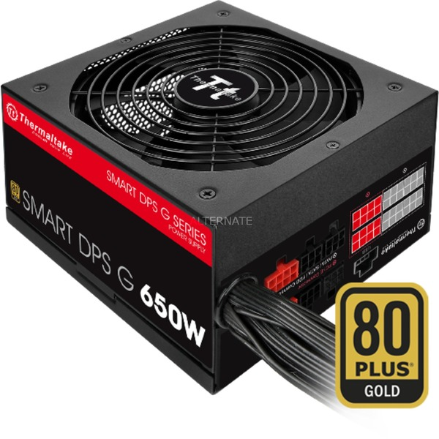 SMART DPS G 650W 650W ATX Noir, Rouge unité d'alimentation d'énergie, Alimentation PC