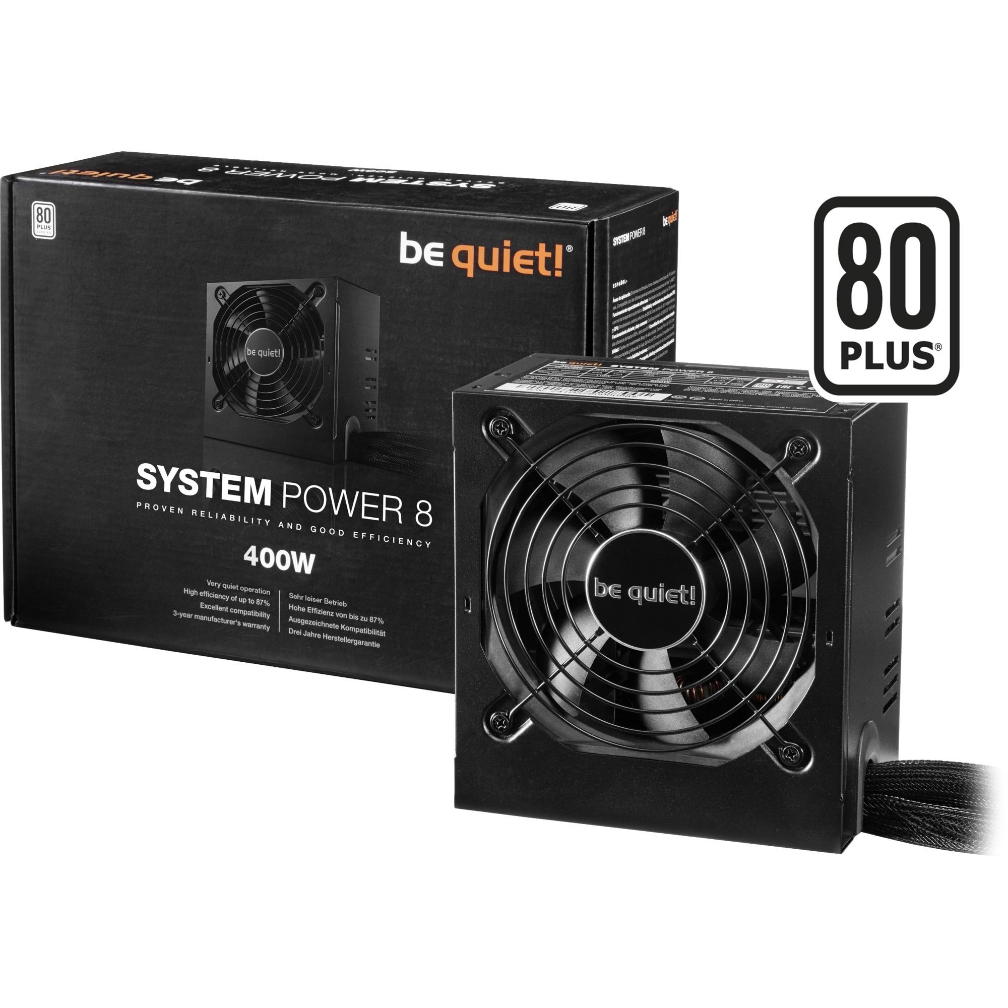 System Power 8 400W, Alimentation PC