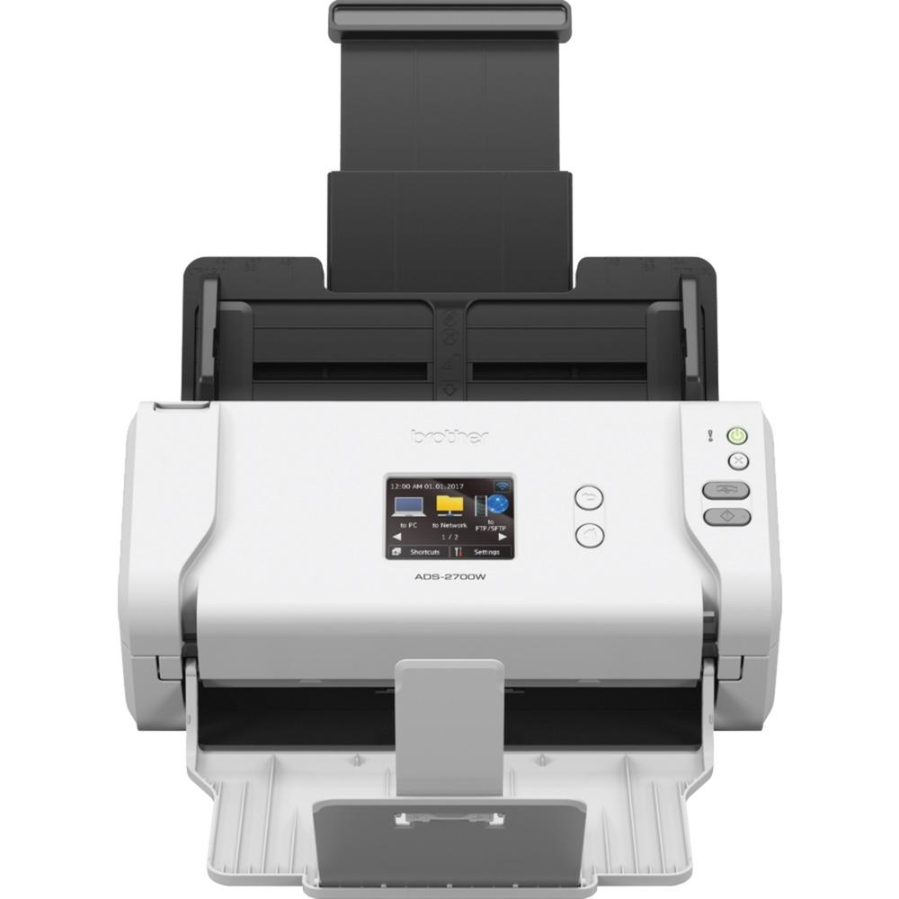 ADS-2700W Scanner ADF 600 x 600DPI A4 Noir, Blanc scanner, Scanner à feuilles
