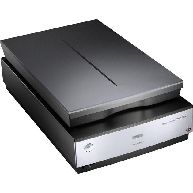 Perfection V800 Numérisation à plat 6400 x 9600DPI A4 Noir, Scanner à plat