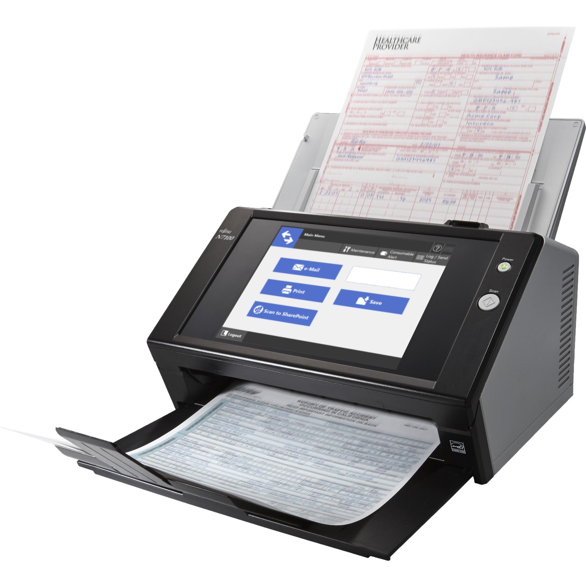 N7100 Scanner ADF 600 x 600DPI A4 Noir