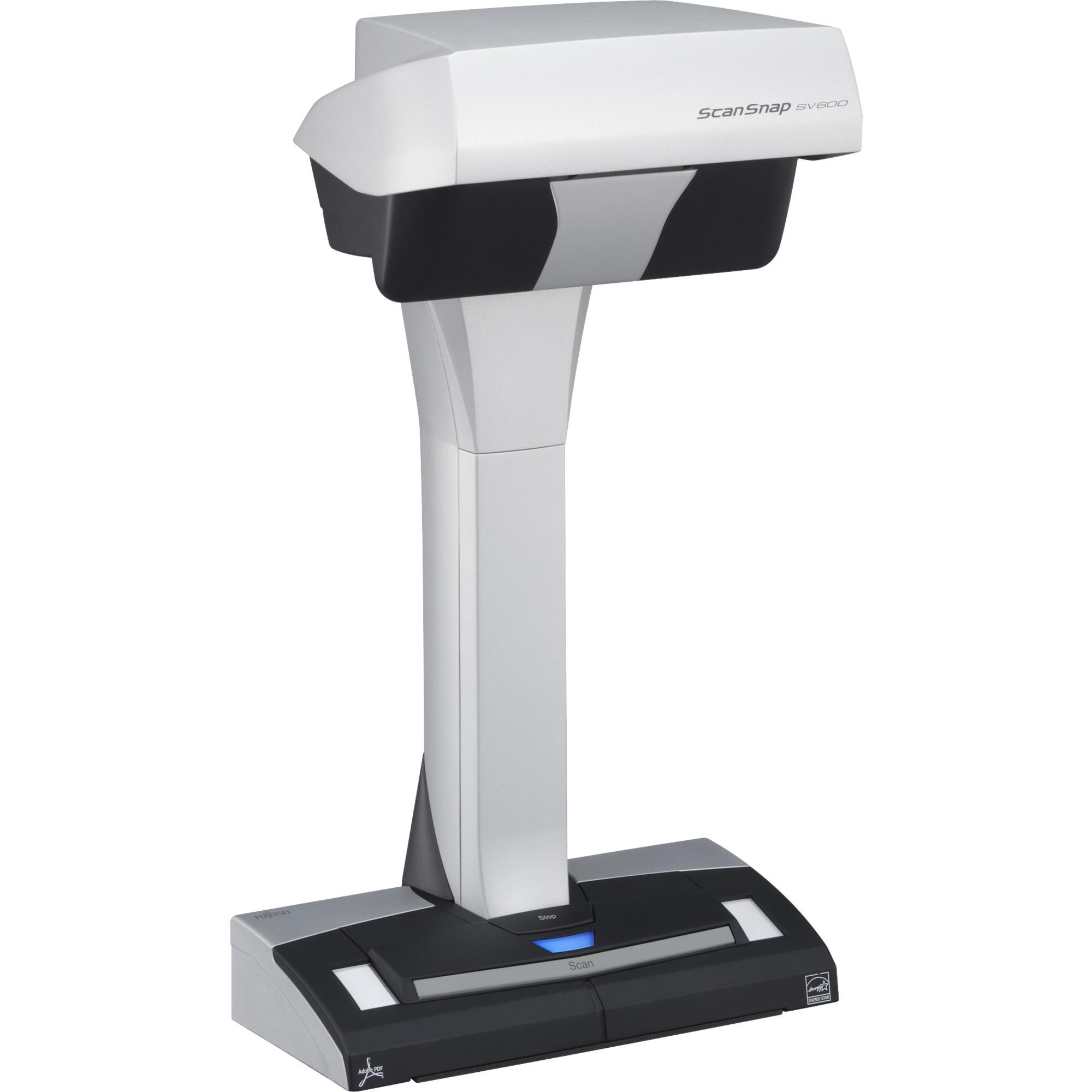 ScanSnap SV600 Overhead scanner 285 x 218DPI A3 Noir, Blanc