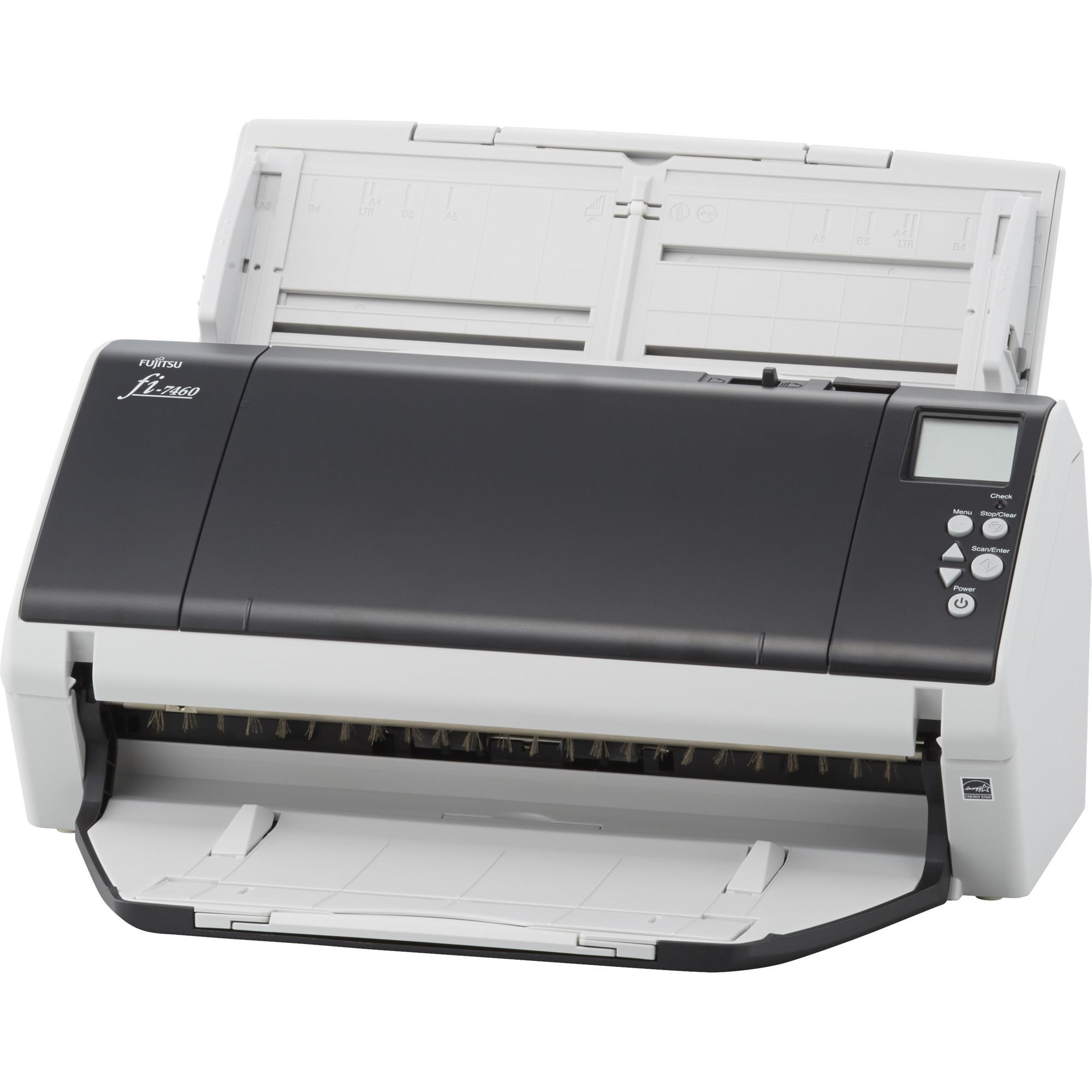 fi-7460 ADF scanner 600 x 600DPI A4 Gris, Blanc
