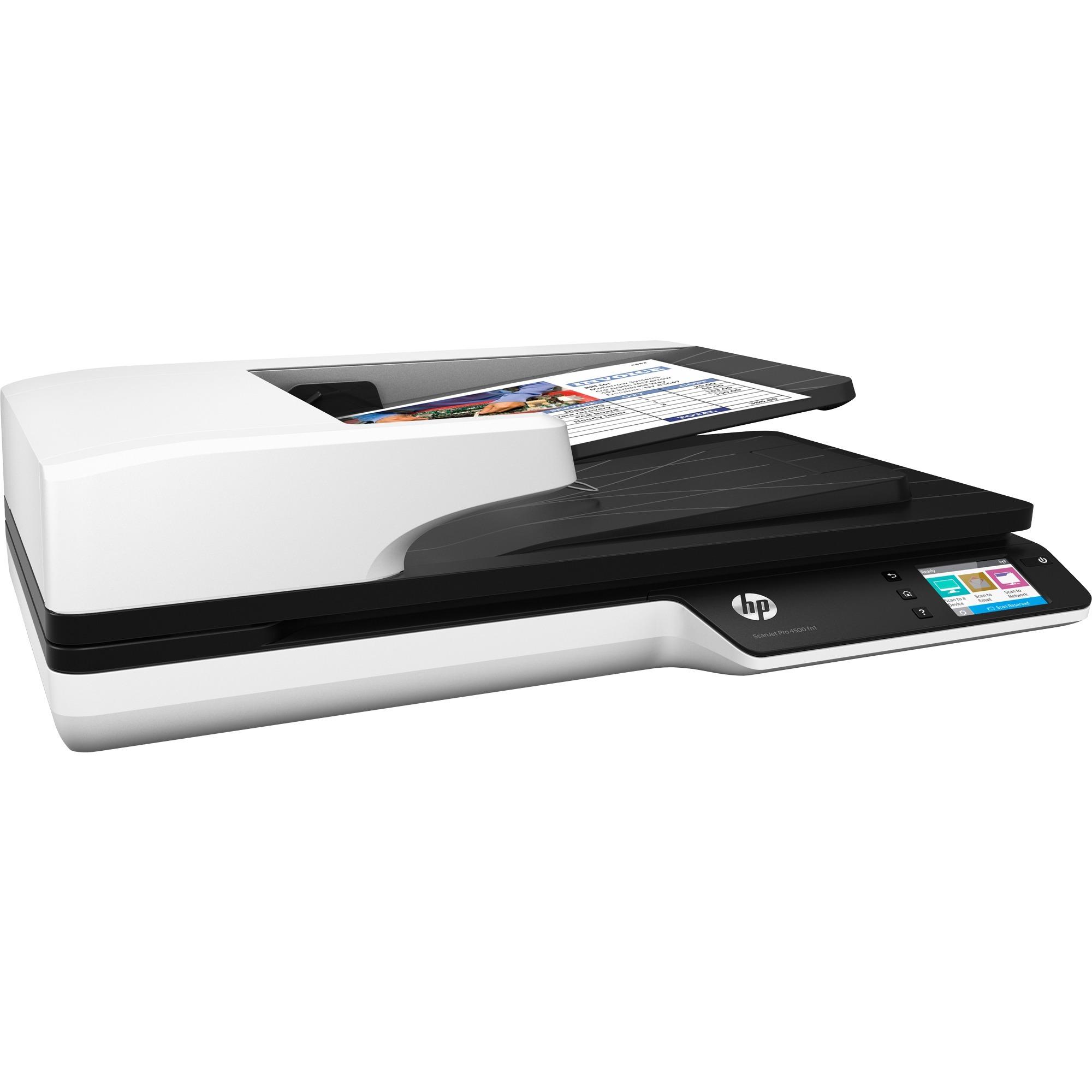 Scanjet Scanner réseau Pro 4500 fn1, Scanner à plat
