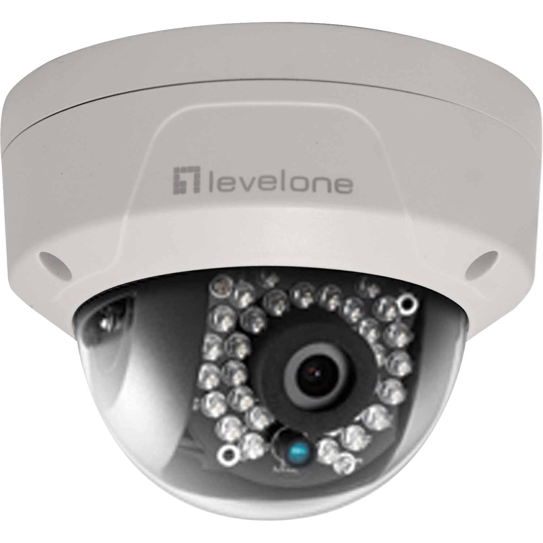FCS-3087 IP security camera Intérieure et extérieure Dome Blanc, Caméra réseau