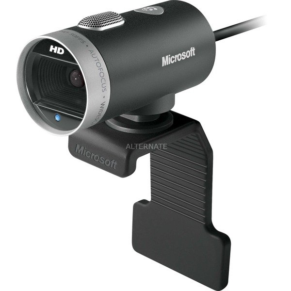 LifeCam Cinema 1MP 1280 x 720pixels USB 2.0 Noir, Argent webcam