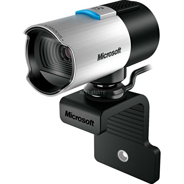 LifeCam Studio for Business 1920 x 1080pixels USB 2.0 Noir, Argent webcam