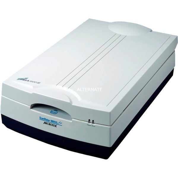 ScanMaker 9800XL Plus Film/slide scanner 1600 x 3200DPI A3 Noir, Gris, Scanner à plat