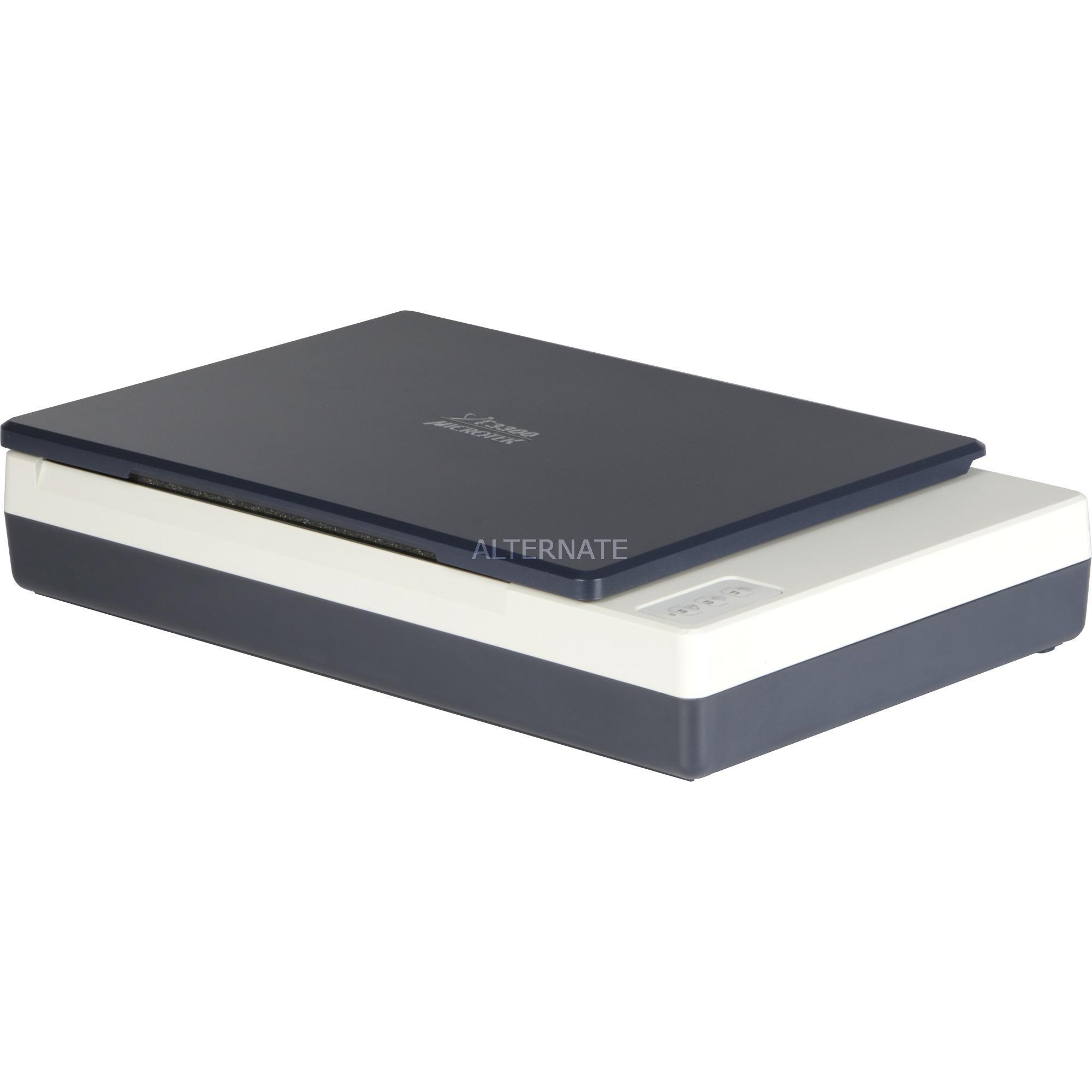XT-3300 Numérisation à plat 1200 x 2400DPI A4 Bleu, Gris, Scanner à plat