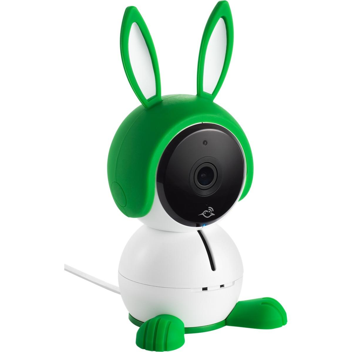 ABC1000 IP security camera Intérieur Cube Vert, Blanc, Caméra de surveillance