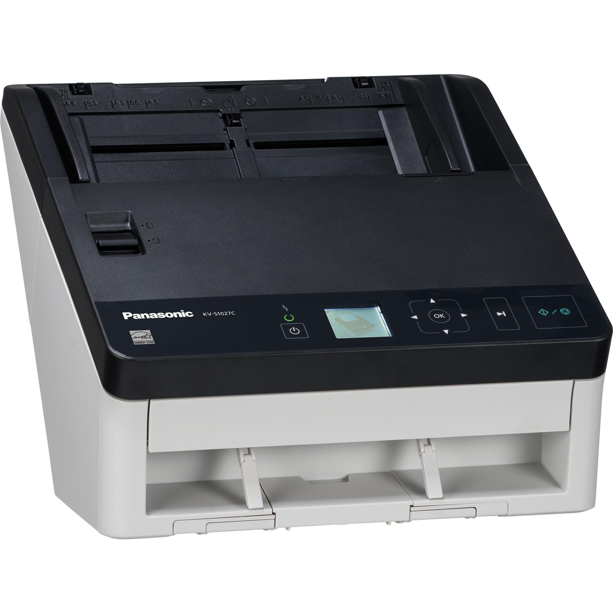 KV-S1027C-U ADF scanner 300 x 600DPI A4 Noir, Blanc scanner